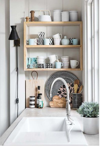 Scandinavian Inspiration Kitchen Soft Pastels Chic Styling Bright Whites It S A