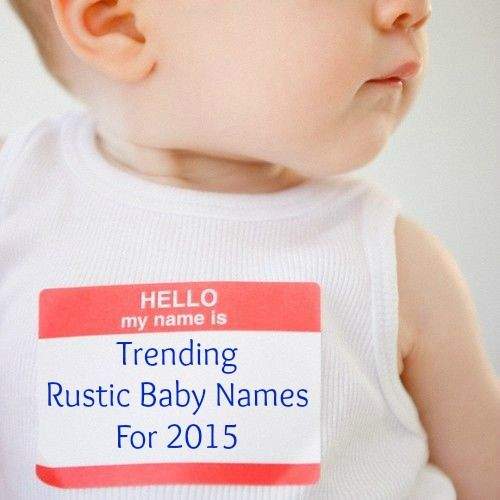 17 Best Images About Rustic Country Boys Names On