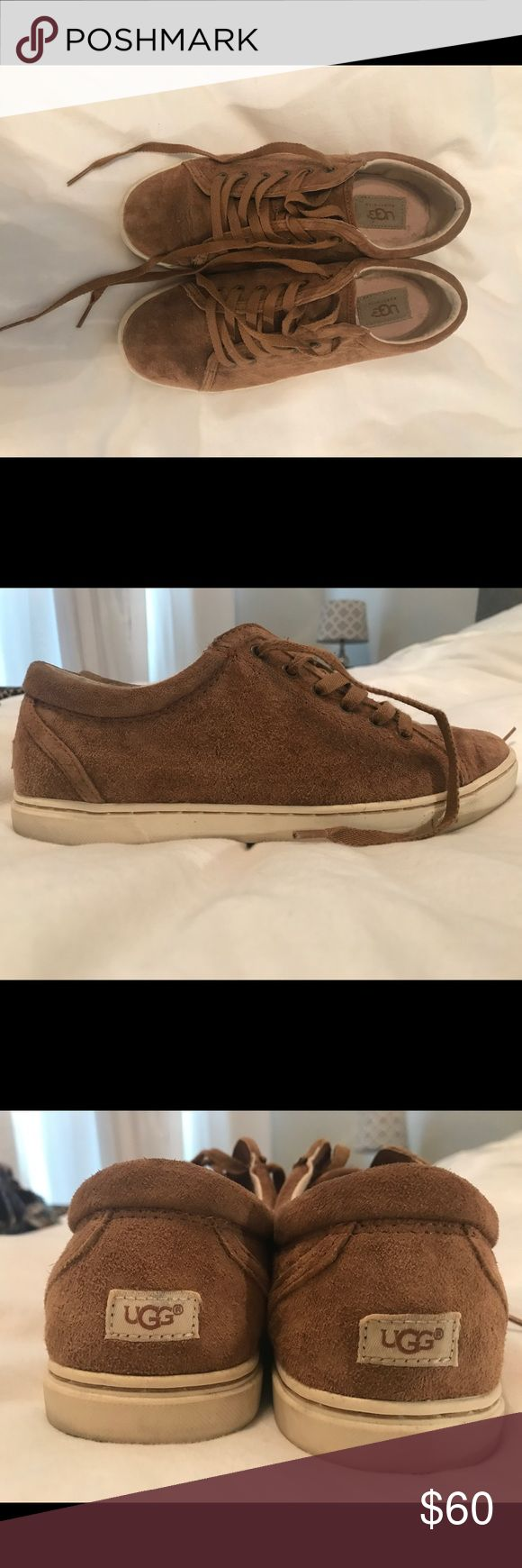 Ugg sneakers Ugg sneakers Camel color Good condition Shoes Sneakers
