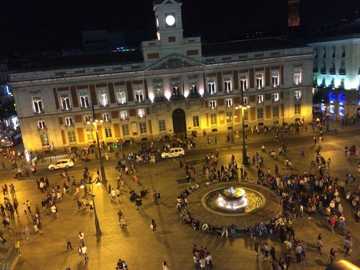 Puerta del Sol, Madrid Campanadas