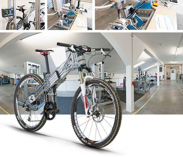Cube Bikes | Bisiklet Blog   Dünyanın en gelişmiş Ar-Ge ve test cihazlarına sahip olan firmalardan biri olan Cube, tüm bisiklet modellerinin testlerini kendi bünyesinde bulunan test merkezinde gerçekleştirmektedir.