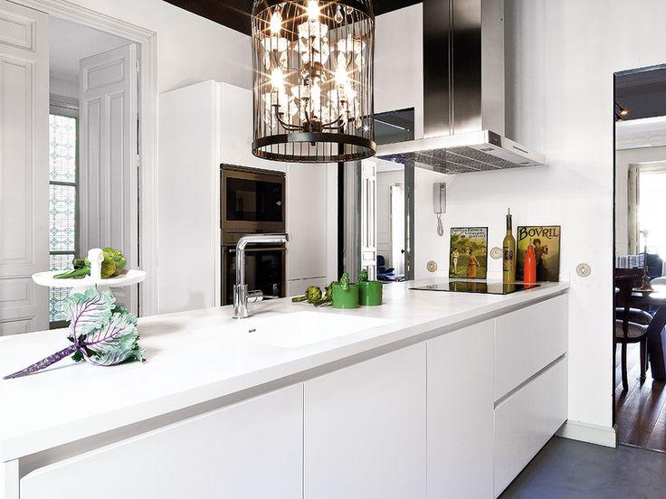 Dos estilos en la cocina...