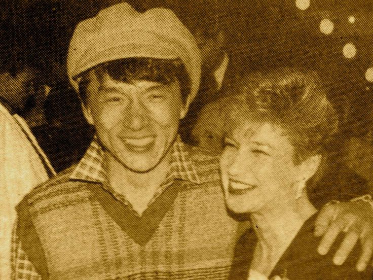 Jackie Chan and Cynthia Rothrock in the mid-80′s.