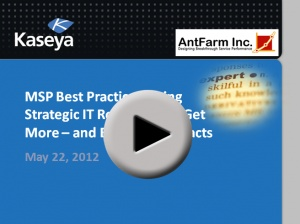 Webinar Replay – Using IT Strategic Plans to Win More – And Better – Managed Services Contracts