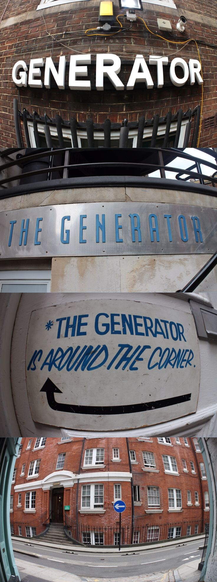 Hostel Generator em Londres.