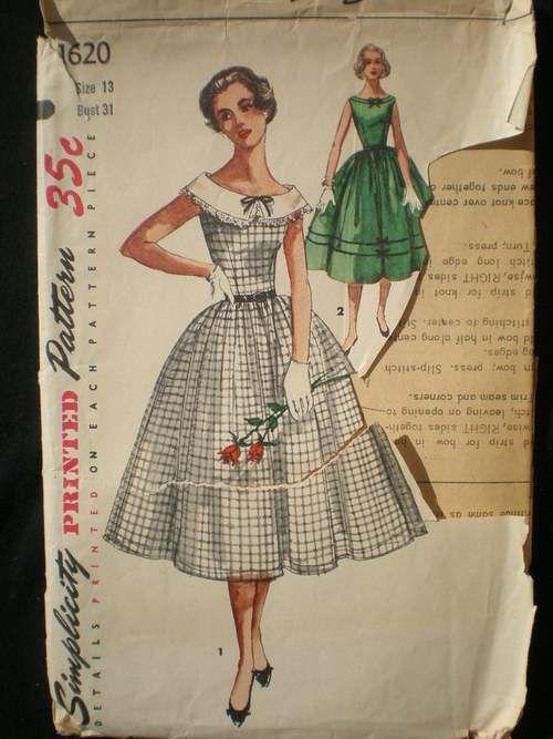 Vintage Dress Patterns http://www.hipsterama.com/wp