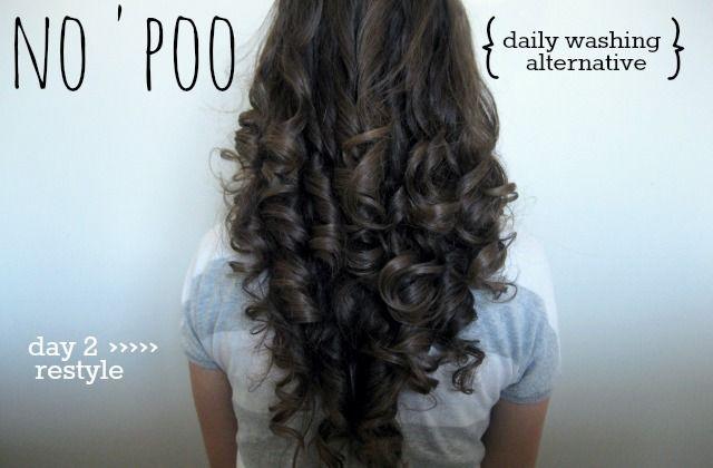 Beginner Beans: Curly-Haired Girl's Testimonial to No 'Poo | baking soda + vinegar