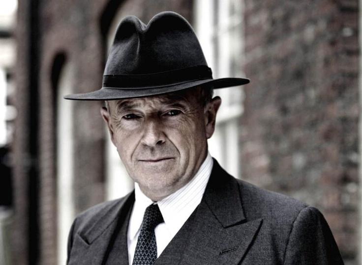 """Michael Kitchen in """"Foyle's War""""."""
