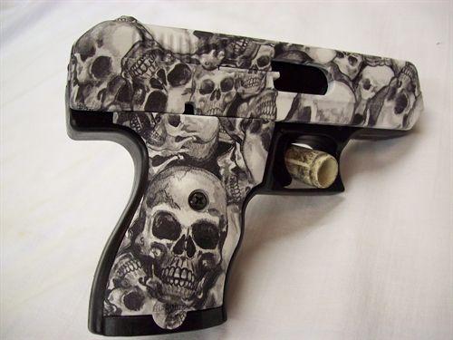 Hydro dipped gun