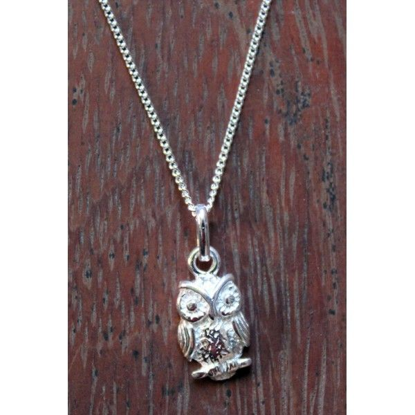 Little Owl Pendant and Necklace - Jewellery Online