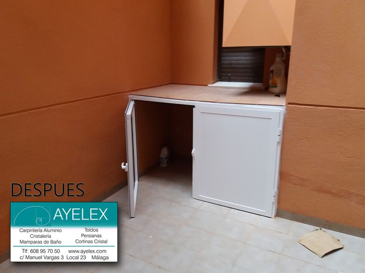 17 best ideas about ventanas de aluminio blanco on for Muebles marfil malaga