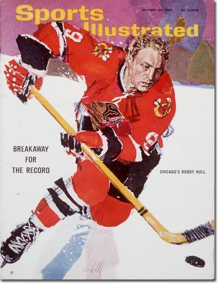 Bobby Hull, Hockey, Chicago Blackhawks