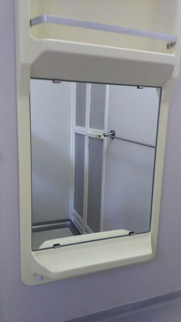 浴室鏡の小型のタイプでも対応が可能です 浴室 鏡 鏡 浴室 ミラー