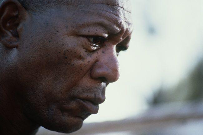 """Фриман — один из немногих актеров, кто умеет молчать на экране. Он может ничего не делать, просто стоять и в это же время заставить нас переживать целый ураган эмоций. «Мой дед был рабом. Когда же его освободили, то в метрике записали: """"Free man"""". Моя фамилия, таким образом, означает """"свободный человек""""».   Источник: http://www.adme.ru/tvorchestvo-kino/post-obozhaniya-morgana-frimana-1221160/ © AdMe.ru"""
