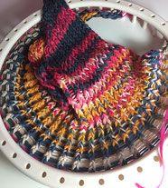Knitting Loom,Strickring, Dreickstuch,Tuch,Triangeltuch, Anleitung, Videoanleitung,Kostenlos ,