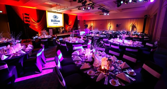 Hilton Cairns - event setting