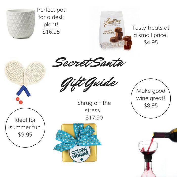 Secret Santa Gift Guide | Serensays.com