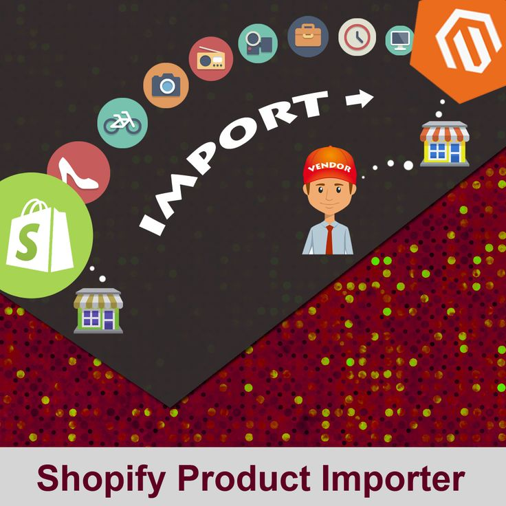 Shopify Product Importer extension is an addon for CedCommerce Marketplace. It allows the vendors to import the products from Shopify to their Marketplace. Features:- 1. Just need to enter Shopify store URL, API key and API password and start importing.  2. No need of expertise, very easy to use.  3. Migrate simple, configurable and variation of products with images.