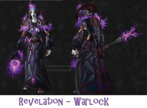 Revelation #Warlock #Transmog for #WorldofWarcraft stylezbycent.com #wow @worldofwarcraft