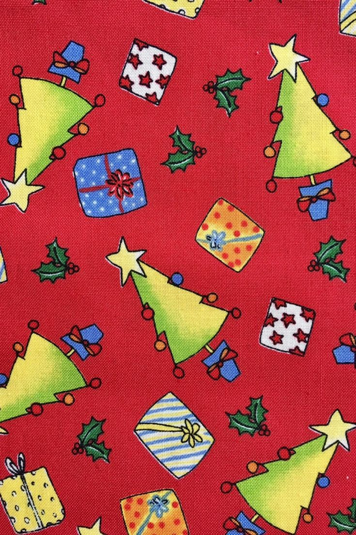 Nick And Rudy Christmas Fabric By Sentimental Studios For Moda In Red 100 Cotton Priced By The Yard Fabric Tree Christmas Fabric Moda Fabric Quilts