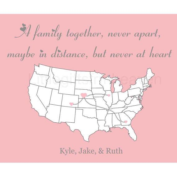 quotes about long distance family quotesgram