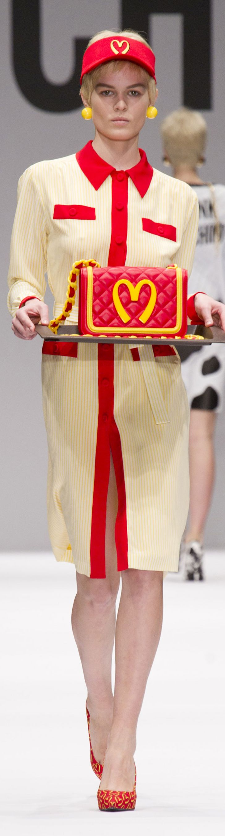 Jeremy Scott's McDonalds-inspired collection