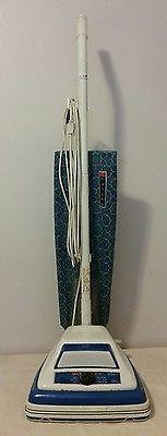 Vintage Eureka Upright Vacuum Cleaner 1458A Dial A Nap Vibra Groomer II