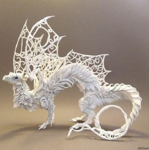 Белый дракон -нет предела совершенству