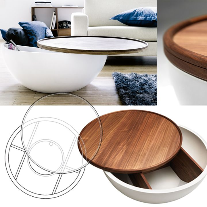 "Coffee table ""Bowl"" by Bolia"