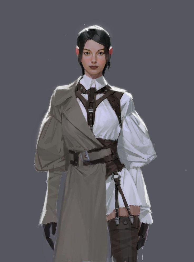 Character Design, Hyoeun Kim on ArtStation at https://www.artstation.com/artwork/1k9Do