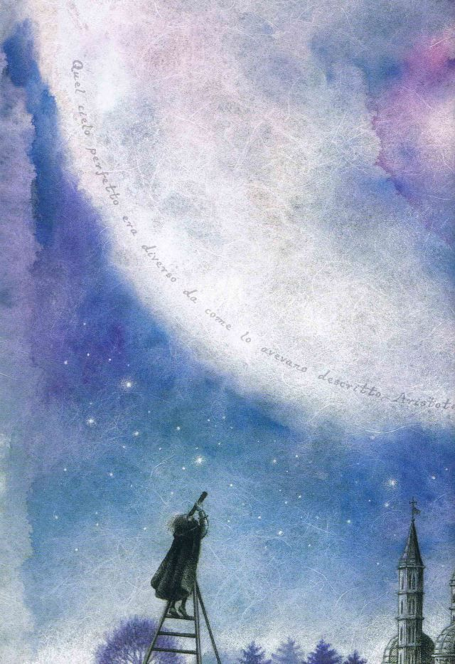 "Valentina Salmaso illustration for ""La Voce Delle Stelle""."