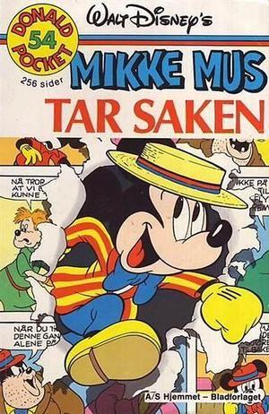 """""""Mikke Mus tar Saken - Donald Pocket #54"""" av Walt Disney"""
