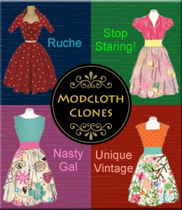 online clothing stores like ModCloth