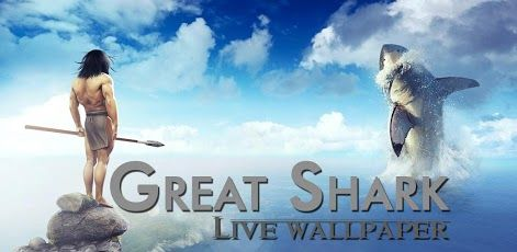 3D Shark Live Wallpaper is an Android Live Wallpaper app for your Smartphones and Tablets.