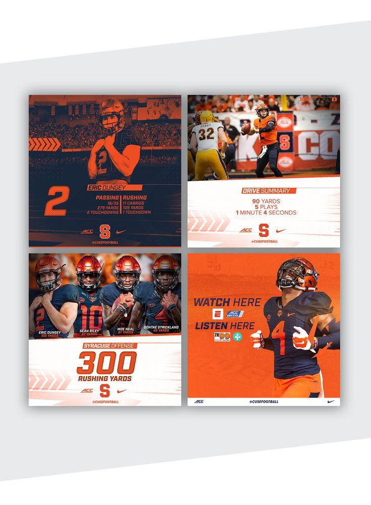 Syracuse Football 2017-2018 Season on Behance