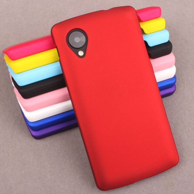 Coque For LG Nexus 5 Case Rubber Plastic Hard Ultrathin Frosted Shield Matte Case Protective Nexus 5 Cover Phone Cases Fundas