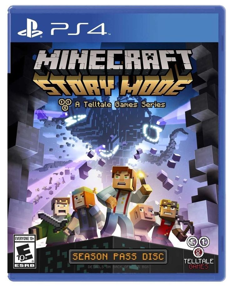 Brand New Sony Playstation 4 Minecraft Story Mode Game Factory Sealed Ps4 Games #News #Brand #Sony #Playstation #Minecraft #Story #Ps4