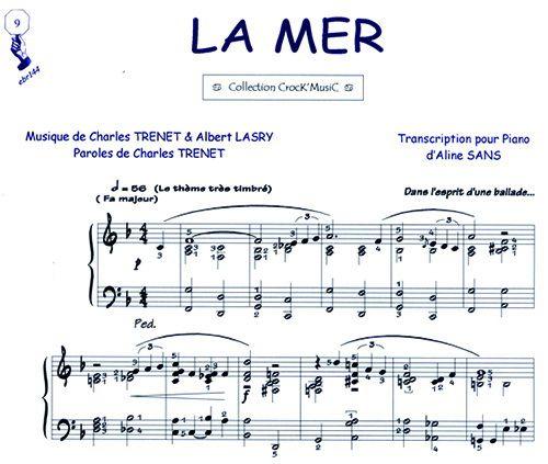Charles Trénet - La Mer - (Partition)