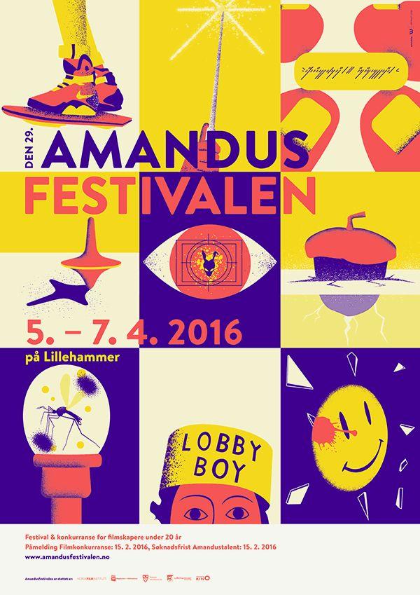 Amandus Film Festival 2016 by Upstruct #festival https://fr.pinterest.com/igreka2n/festival/
