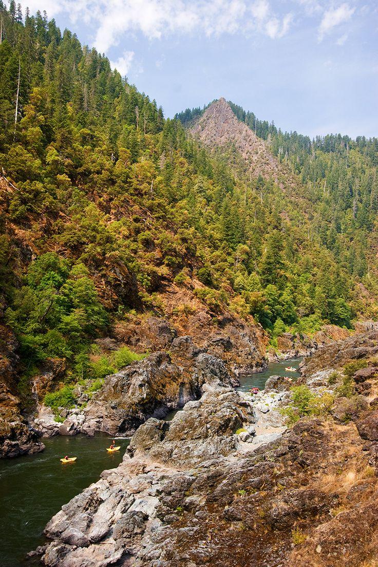 Mule Creek Canyon on Oregon's Rogue River. Photo: TL Barbutes