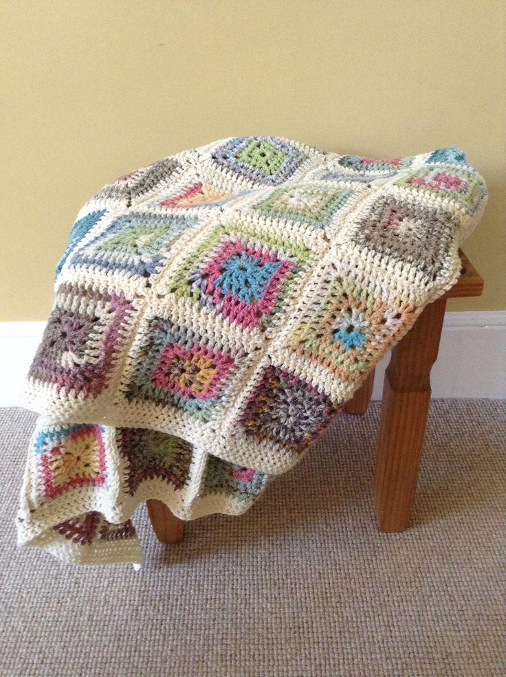 Chrochet blanket - love these colors