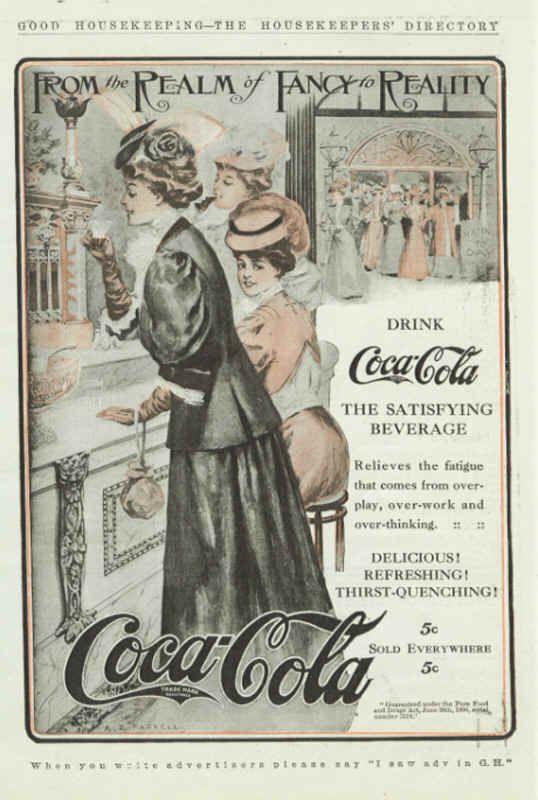 Coca-Cola 1907                                                                                                                                                                                 More