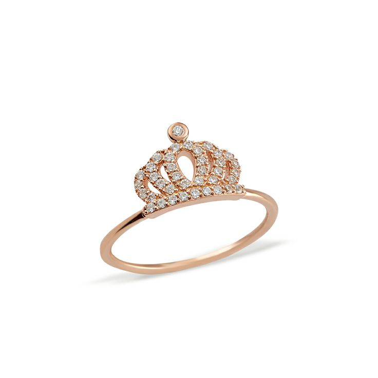 Mini crown ring available at www.roaraccessories.com.au