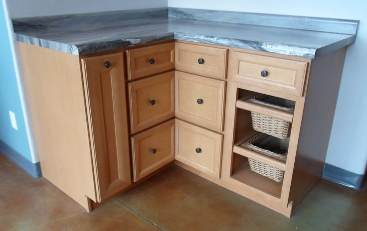 """Karman brand Maple cabinets, """"Bridgeport"""" door style, and ..."""