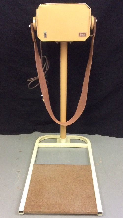 Authentic Vintage Sears Belt Vibrator Exercise Fat Burning
