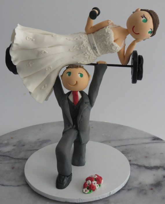 Personalised Cake Toppers are hand made out of Resin Clay which makes them a lovely keepsake of your special day.  All the cute Bride and Groom