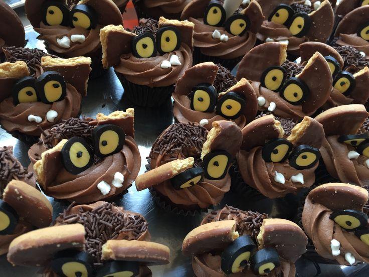 Fladdermus muffins choklad