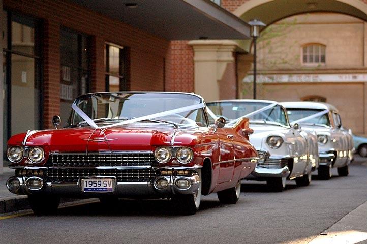 Classic Cadillac Wedding Cars #wedding_car