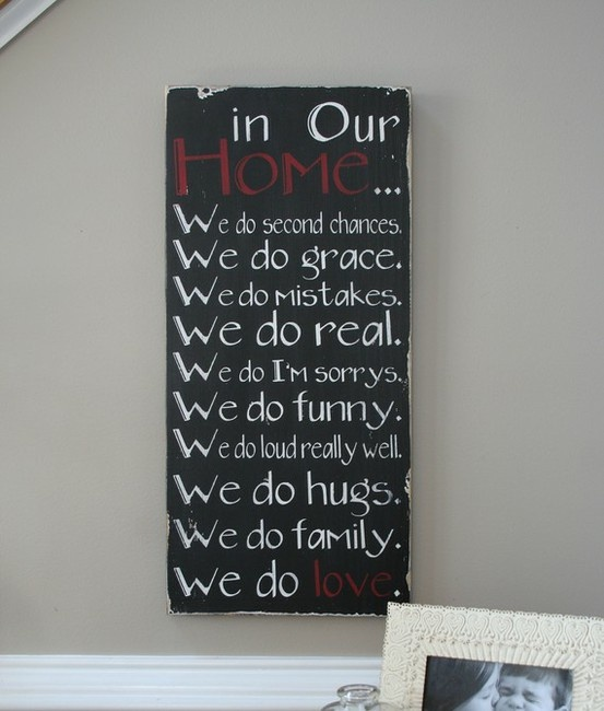 Love sayings wall art.