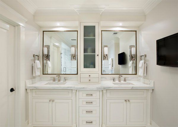 20 Classy And Functional Double Bathroom Vanities Home Design Lover Master Bathroom Decor Master Bathroom Vanity Double Vanity Bathroom